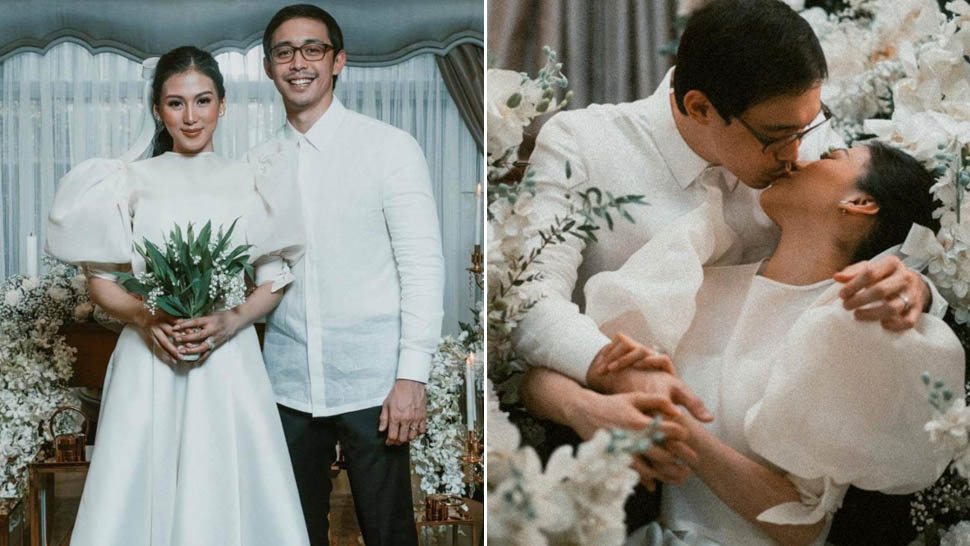 We Love Every Detail Of Alex Gonzaga's Chic And Minimalist Bridal Look