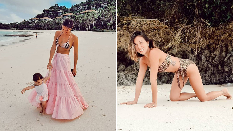 Solenn Heussaff Flaunts Post-Baby Body with Chic Outfits in Boracay