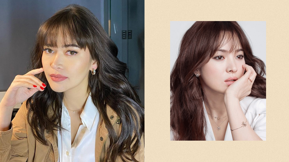 Bela Padillla's Song Hye Kyo-inspired Haircut Will Convince You To Get Bangs