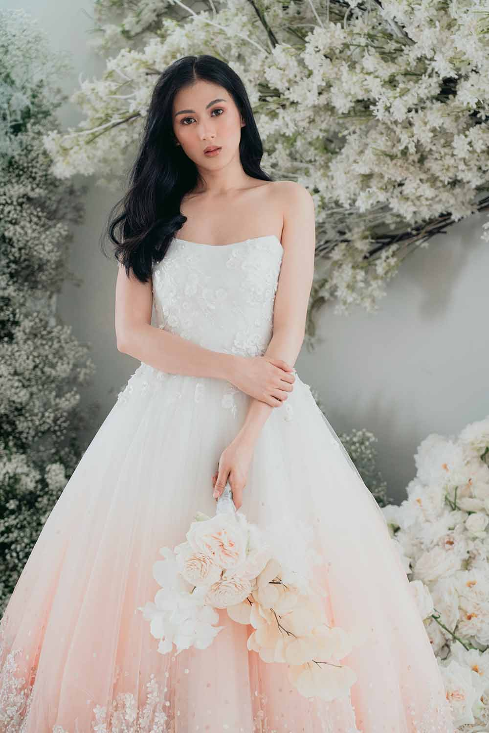 bride alex gonzaga in joe san antonio wedding gown