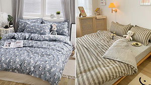 This Shop Sells Pretty Linen Sets That Are Perfect For Your K-drama Inspired Bedroom