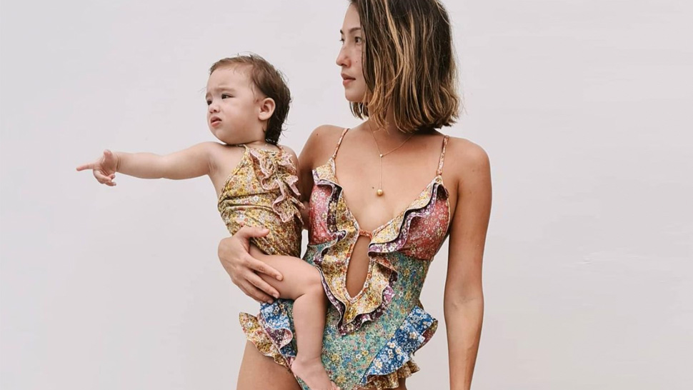 Solenn Heussaff And Her Daughter Thylane's Matching Swimsuits In Boracay Cost Almost P30,000