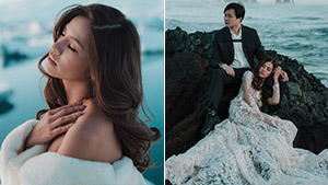 Fashion Designer Patricia Santos' Engagement Shoot In Iceland Is Absolutely Breathtaking