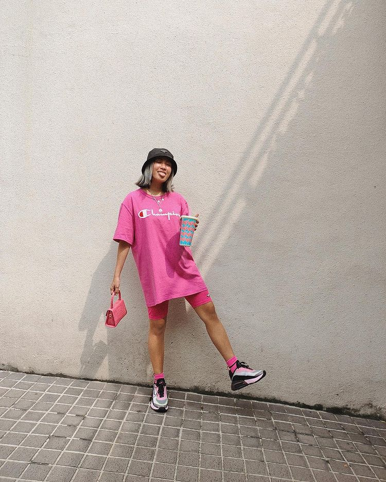 pink OOTDs Laureen uy/> <figcaption class=