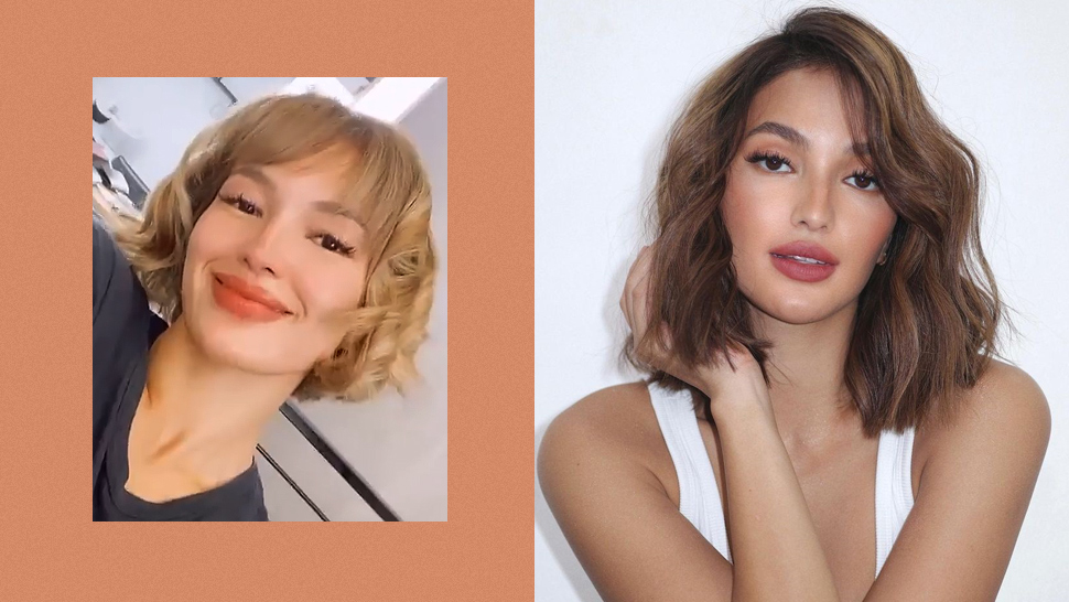 We're in Love with Sarah Lahbati's New Honey Blonde Hair Color