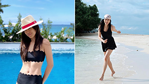 Toni And Alex Gonzaga's Black And White Ootds In Boracay Will Be Your Next Beach Outfit Pegs
