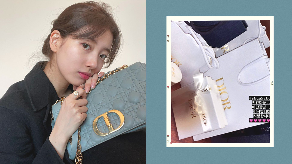 Bae Suzy Just Gifted Her Staff with Expensive Presents from Dior and We're Totally Jealous