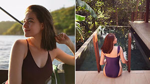 Bea Alonzo Is Making A Case For The One-piece Swimsuit And We're All For It