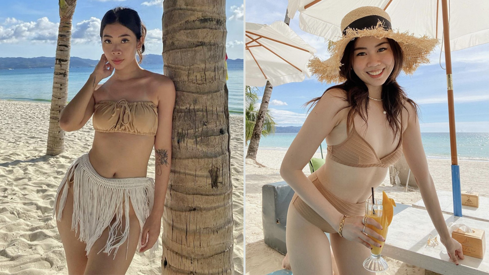 We're Loving These Influencers' Monochromatic Beach Ootds In Boracay
