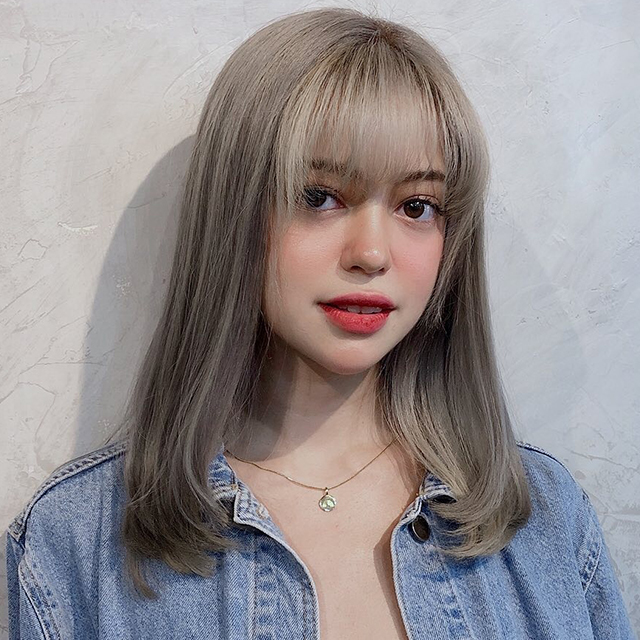 sue ramirez ash blonde hair