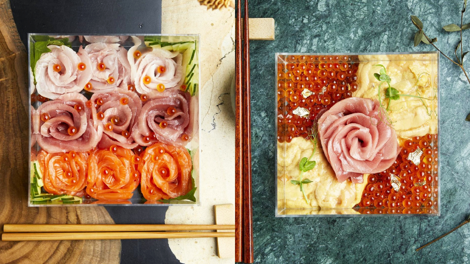 We'd Take These Gorgeous Sashimi Boxes Over Flowers Any Day