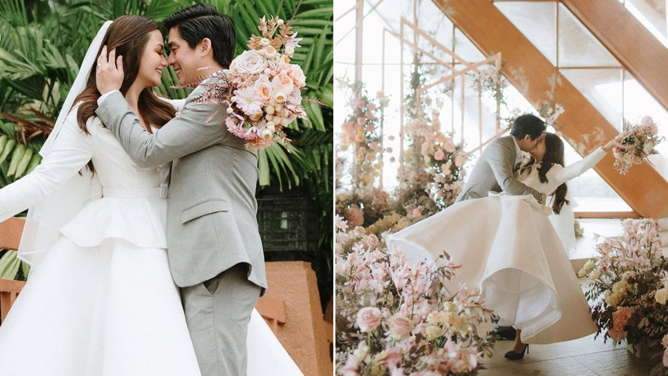 "Vern Enciso's Modern Bridal Look Is Inspired by Carrie Bradshaw of ""Sex and the City"""