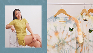 How This College Student Started Her Own Tie Dye T-shirt Business With Only P3000