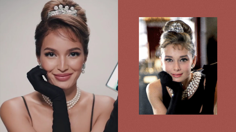 Sarah Lahbati Just Recreated Audrey Hepburn's Iconic Looks and We Are Blown Away