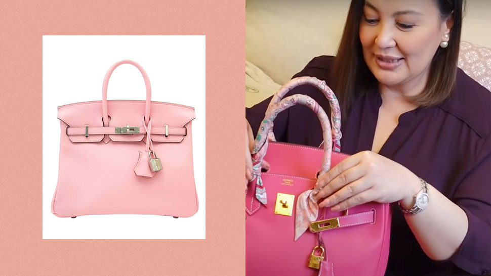 Sharon Cuneta Finally Got Her Dream Hermès Sakura Pink Birkin