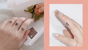 12 Dainty Finger Tattoo Ideas That You Won't Regret Getting