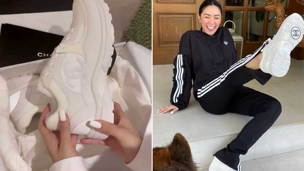 Heart Evangelista Just Got A New Pair Of Designer Sneakers And It Costs P55,000