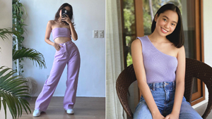 7 Ways To Style Pastel Purple, As Seen On Local Influencers