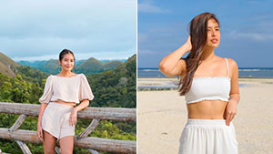 Gabbi Garcia's Monochromatic Ootds In Bohol Are Perfect For The Summer