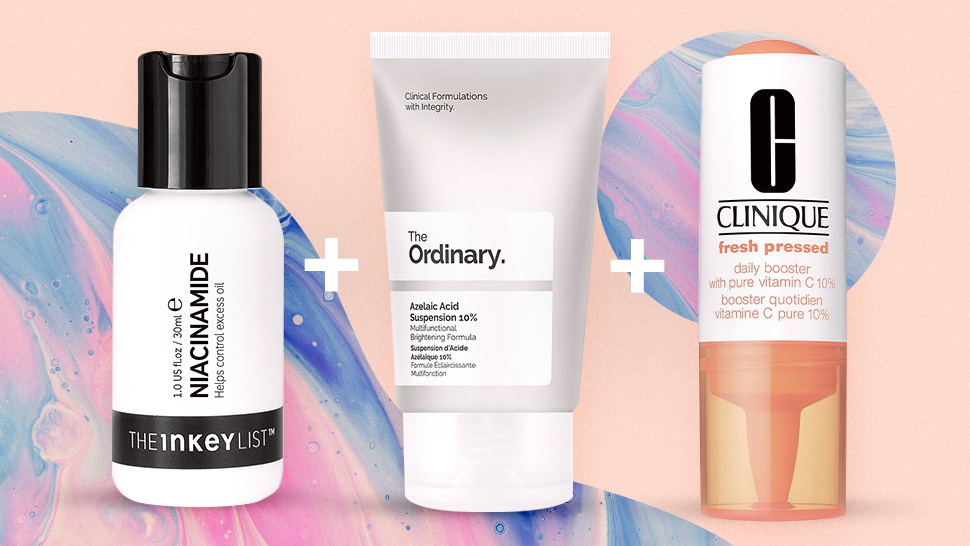 The Best Skincare Ingredients To Combine For Clear, Glowing Skin