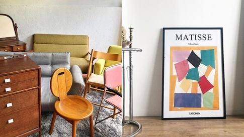10 Online Stores To Hit Up For Vintage And Upcycled Furniture