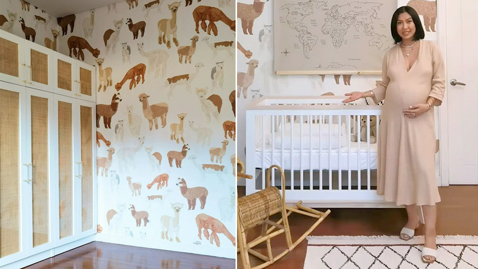 Liz Uy Converted Her Walk-in Closet Into An Adorable Earth-toned Nursery