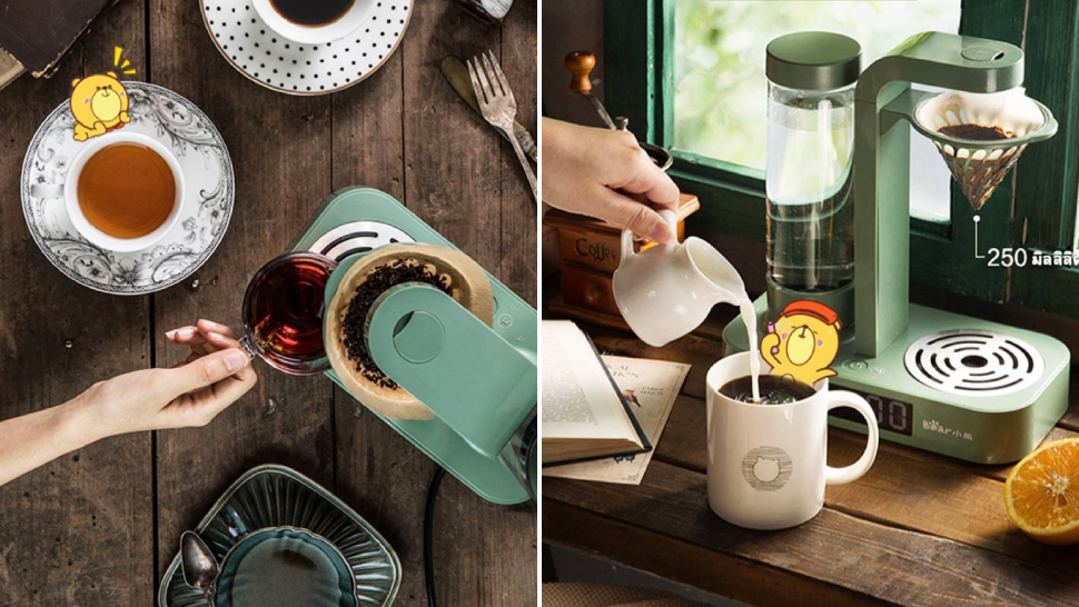 This Gorgeous Vintage-themed Drip Coffee Maker Is Perfect For Your Minimalist Home