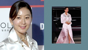 We're Obsessed With Kim Hee Ae's All-white Chanel Outfit At The Blue Dragon Film Awards