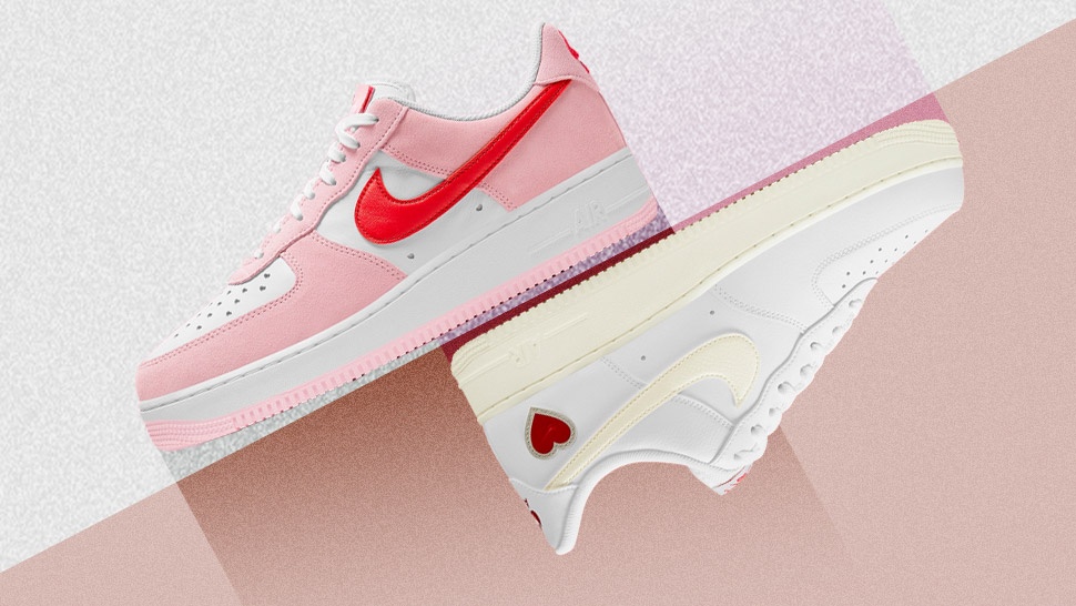 We're Head Over Heels With Nike's New Valentine's Day-themed Sneakers