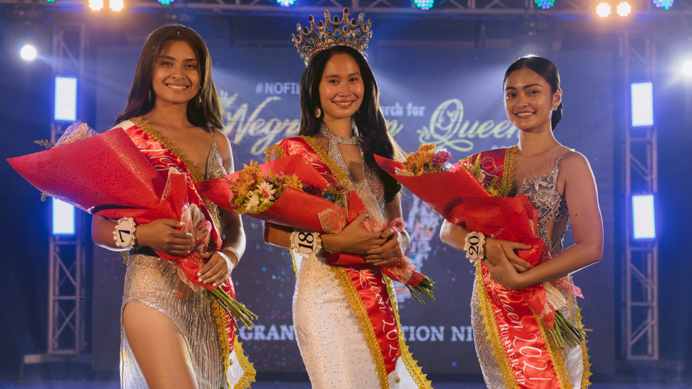 This Beauty Pageant In Negros Oriental Featured Contestants With No Makeup On