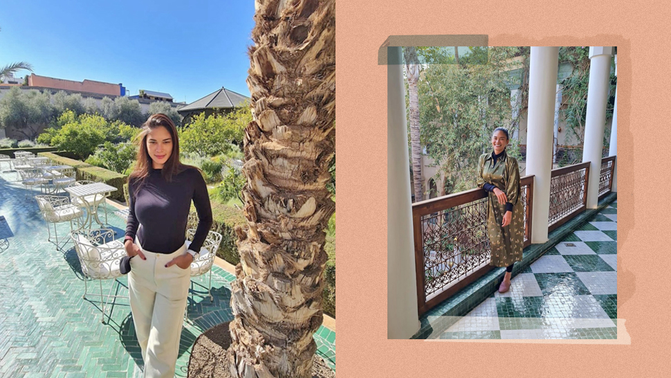 All of Pia Wurtzbach's Picture-Perfect OOTDs in Marrakech, Morocco