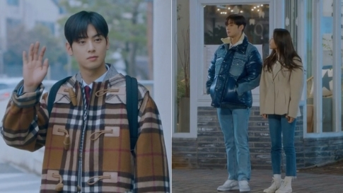 """All Of Cha Eun Woo's Most Expensive Designer Jackets In """"true Beauty"""""""