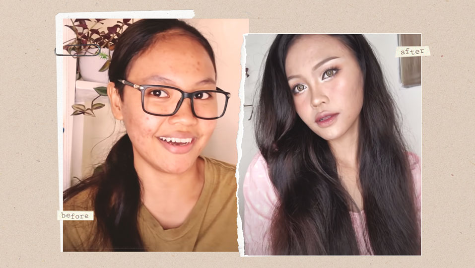 "This Pinay Is Going Viral For Her Makeup Tutorial Inspired By K-drama ""true Beauty"""