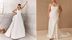 12 Simple Yet Chic Wedding Dress Designs That Are Perfect For The Minimalist Bride