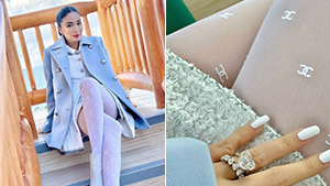 Heart Evangelista's White Stockings In Her Baguio Ootd Cost Over P22,000