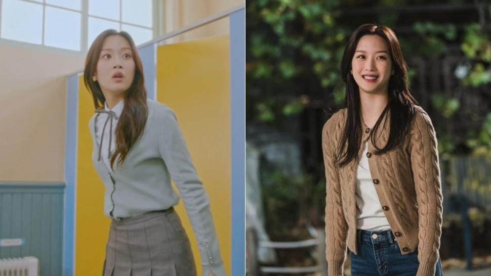 "8 Moon Ga Young Outfits From ""true Beauty"" That Will Make You Want To Buy A Cardigan"