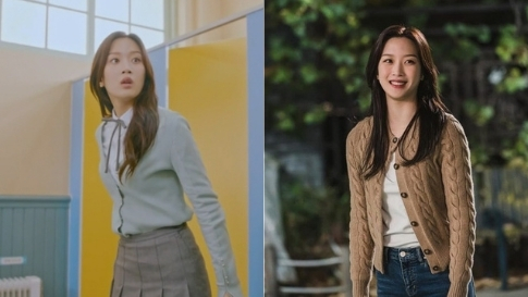 """8 Moon Ga Young Outfits From """"true Beauty"""" That Will Make You Want To Buy A Cardigan"""