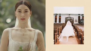 This Is The Exact Wedding Gown Julia Barretto Wore In The