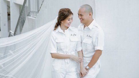 These Doctors Got Married In Matching All-white Ppes