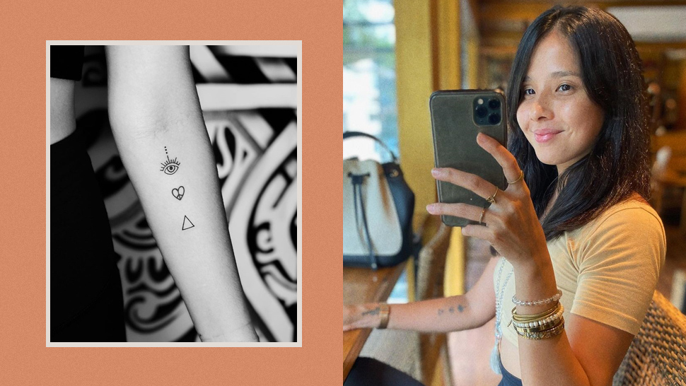 Maxene Magalona's New Tiny Tattoos Will Make You Want to Get Inked