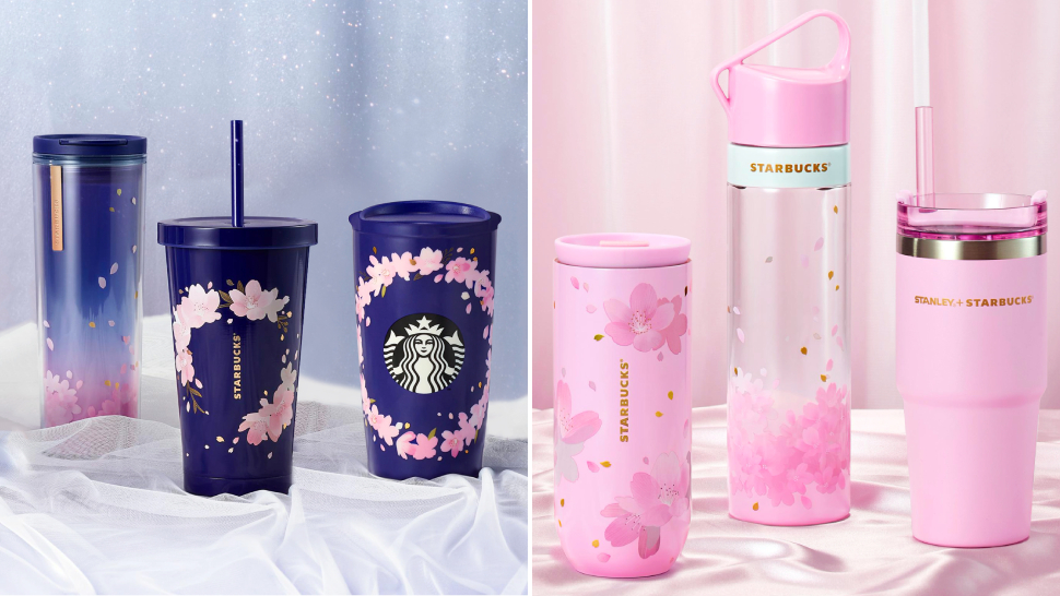 We're Totally In Love With Starbucks' Gorgeous Cherry Blossom Tumbler Collection