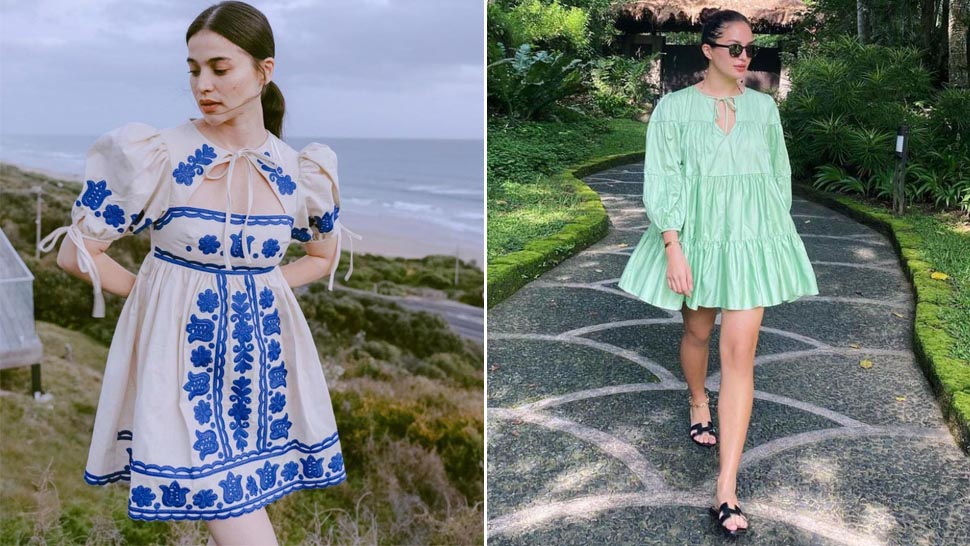 These Stylish Celebrities Will Make You Want To Shop For Cute Babydoll Dresses