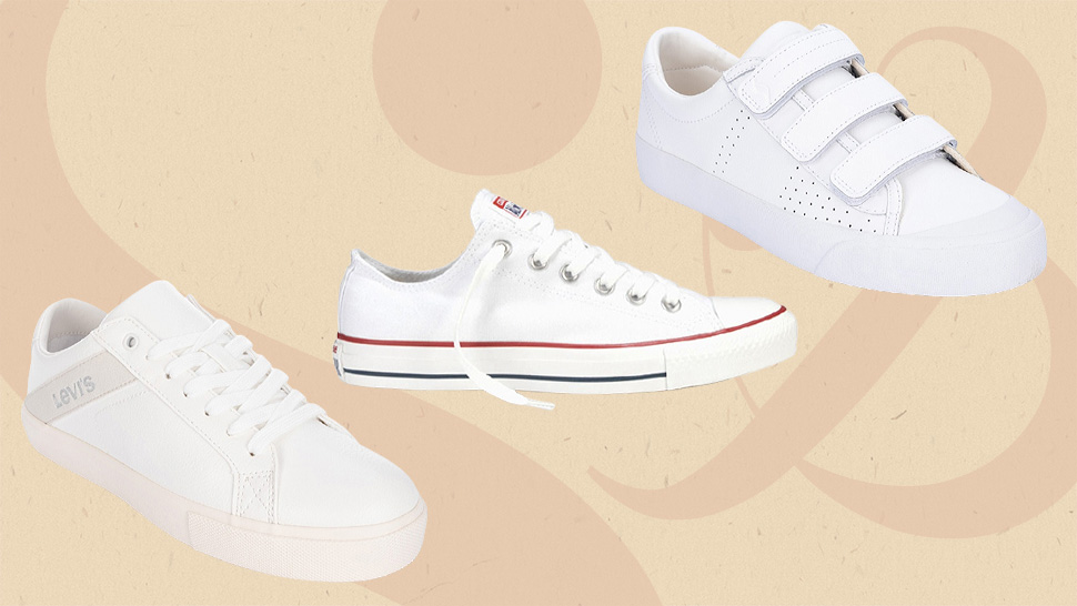 Shop These Basic White Sneakers That Will Look Good With Any Outfit