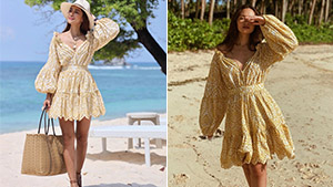 This Is The Exact Yellow Summer Dress That We Spotted On Stylish Girls On Instagram