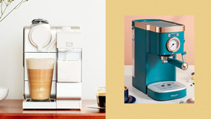 10 Aesthetic Coffee Machines To Shop For Your Coffee Nook At Home