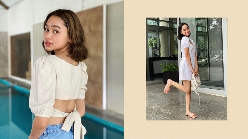 10 Times Bella Racelis Made Us Want To Wear Cute Linen Outfits