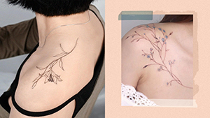 12 Dainty Shoulder Tattoos That You Won't Regret Getting