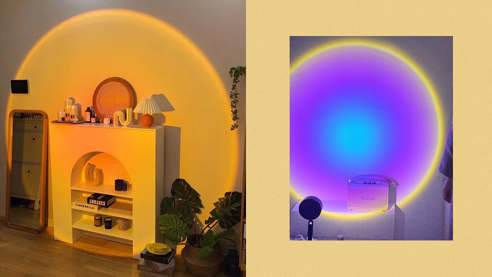 This Mood Lamp Can Give Your Room a Gorgeous Artificial Sunset