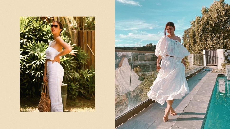 10 Local Celebs Who Will Make You Wear All-white Ootds This Summer