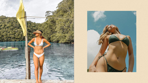 7 Sultry Swimsuit Poses To Try If You're Shy, As Seen On Jamina Cruz